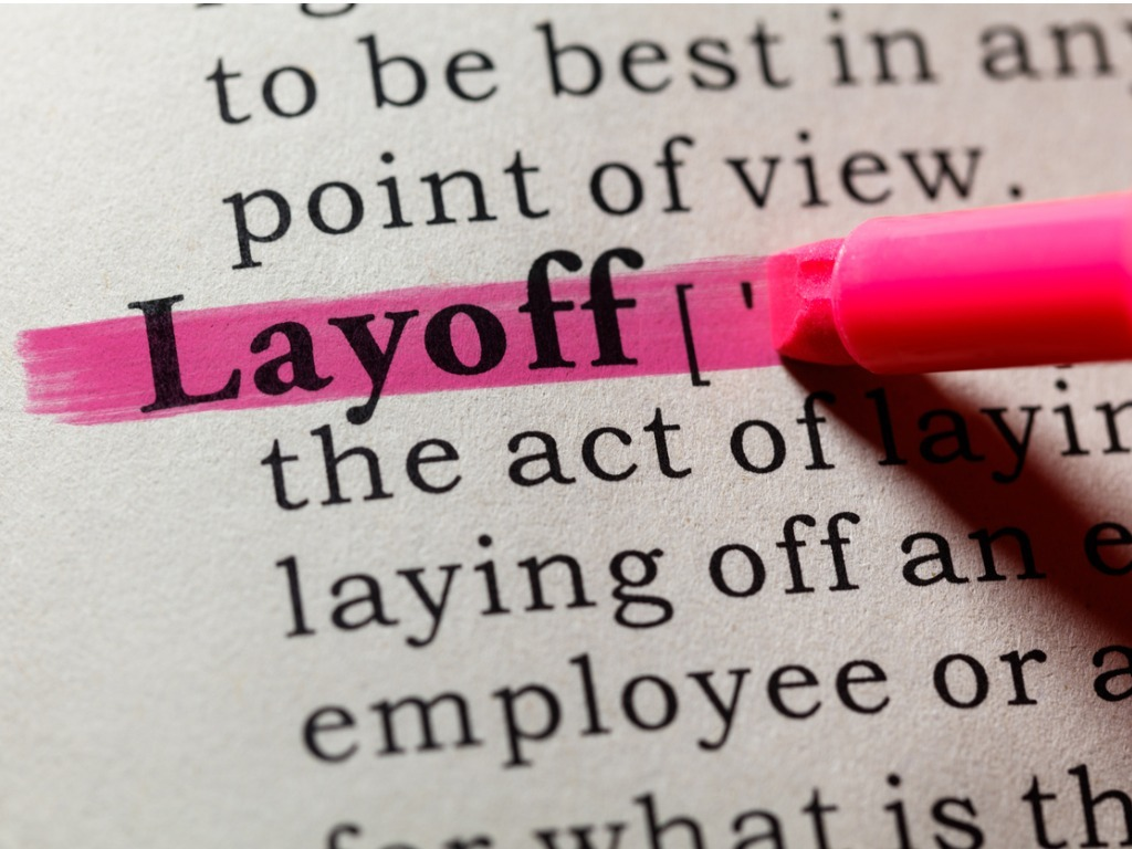 Definition of layoff picture id651024880